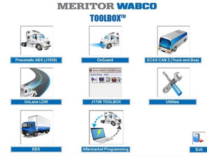2018 Meritor Wabco Toolbox 12.6.1 + патч [неограниченная установка]