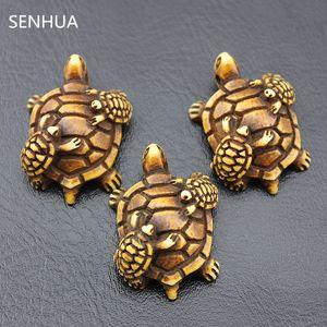Lotti all'ingrosso dei monili 20 pz stile tribale imitazione yak bone intagliato tartarughe marine madre pendenti di fascini per collana o portachiavi MC44