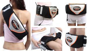 Haute Qualité Vibro forme minceur ceinture Fat Burner Vibration Taille Électrique Masseur Fitness Minceur Sauna Ceinture Vibrant Shake Ceinture De Massage