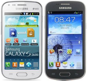 Samsung GALAXY Trend Duos S7562i S7562 S7572 4.0 pulgadas 4G ROM Android 3G WCDMA teléfono restaurado