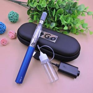 EGO CE4 Vape Stylo Vaporisateur Électronique Cigarette Starter Kit Zipper Case EGO-T Unique E Cig Kit avec CE4 Atomiseur 650mAh Batterie 7 Couleurs