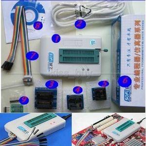 Freeshipping Universal USB Programador EEPROM Flash SPI BIOS 24/25 / BR90 / 93 5000 + CHIPS SP8-A