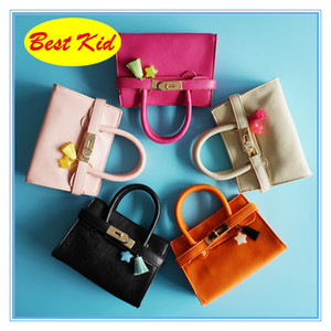 BestKid DHL Free Shipping! lovely Stylish Handbags for Childrens Baby girls Small Leather Totes Toddler Party bags Little baby Kid Bag BK028