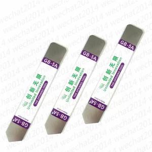 200PCS GB-5A Edelstahl Soft-Thin-Hebel-Öffnungswerkzeug aus Metall Crowbar Unbegrenzte Innovation Werkzeug für Touch-Screen-Handy-Gehäuse-Reparatur