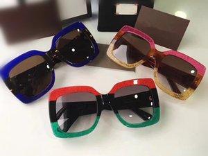 Freeshipping النظارات الشمسية نموذج اللوحات الإناث uv400 الاستقطاب الاستقطاب إيطاليا المستوردة النظارات الشمسية المعتاد gc حالة كاملة القضية 2018 بالجملة ufjg