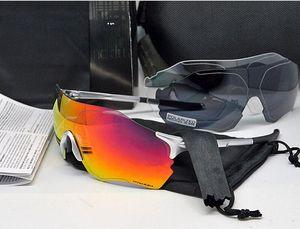 EV zéro Vélo Eyewear O Marque Hommes De La Mode Polarisés TR90 Lunettes De Soleil Sport En Plein Air Running Lunettes 9313 Coloré, Polarisé, Transparent len