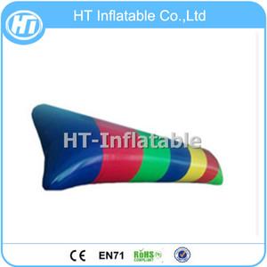 Kostenloser Versand 10x3m Customized Farbe versiegelt aufblasbare Wasser Blobs / Wasserkissen Blob / Wasser Blob Jump For Sale