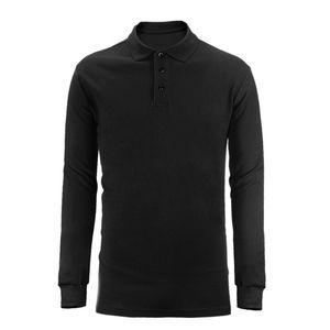 Совершенно новый Рубашка Поло Hombre Мужская Мода Воротник Рубашки С Длинным Рукавом Повседневная Camisetas Masculinas Плюс Размер S -Xxxl Толстовки Поло