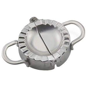 Dumpling Maker Newness 304 Paslanmaz Çelik Hamur Makinesi ve Ev Mutfak için hamur Basın, Dumpling Pie Kalıp Makinesi Pasta Aracı ücretsiz kargo