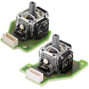 Conjunto de Esquerda e Direita 3D Joystick Analógico Vara Rocker Sensor Module Com Placa PCB para o Controlador de Wii U Gamepad DHL FEDEX EMS FRETE GRÁTIS