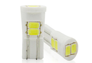 LED lamba T10 seramik geniş lamba T10 5730 6smd yüksek sıcaklık enstrüman lambası plaka Araba Ampuller