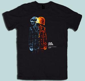 Daft Punk Electronica T-shirt Standard Amerikanische Größe S M L Xl 2xl 3xl T Shirts Casual Marke Kleidung Baumwolle Design Top Tee