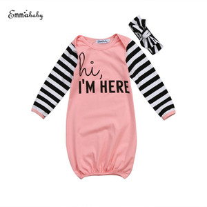 2018 Latest Children's Wear Newborn Toddler Infant Baby Girl Long Sleeve Outfits Sleep Clothes Sleeping Bag Sleepwear 0-18M