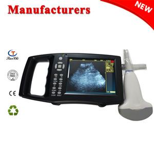 5.6 pollici schermo macchina ad ultrasuoni veterinaria animale color doppler scanner ad ultrasuoni attrezzature caprino suino 3.5 MHz sonda array array