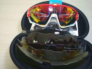 2018 HOT 16 Farben 4 Objektiv Jawbreaker Radfahren Eyewear Polarized Radfahren Sonnenbrille Racing Sport Radfahren Brille Mountainbike Goggles