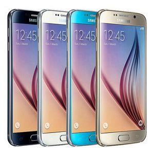 Rinnovato originale Samsung Galaxy S6 G920F G920A G920V G920T 5.1 pollici del telefono cellulare Octa core 3GB di RAM 32GB ROM 16.0MP 4G LTE Android DHL 1PC