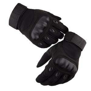 Tactical Gloves Men Outdoor Military Army Paintball Airsoft Shooting Police Carbon Hard Knuckle Combat Full Finger Gloves LF038