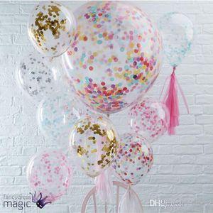 12 inç Pullu Için Şişme Hava Balon Köpük Lateks Yuvarlak Sihirli Balonlar Ev Düğün Parti Süslemeleri Kitleri Kaliteli 2 4 s ...