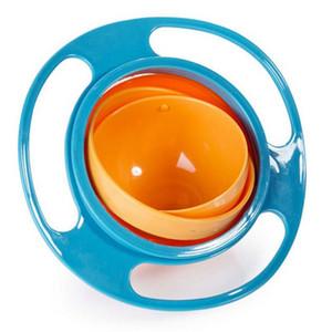 Yüksek Kaliteli Bebek Besleme Oyuncak Bebek Bebek Oyuncak Evrensel 360 Döndürmek Dökülmeye Dayanıklı Kase Yemekleri Komik Hediye Bebek Aksesuarları 3 renkler