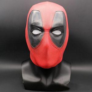 Personnage de film coaplay Halloween Masque en latex Deadpool Masque Cosplay en latex de haute qualité