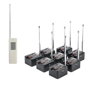 8 Cue Remote Wireless Fireworks Firing system Four Fire Modes Wedding Equipment & 12 Button Transmitter