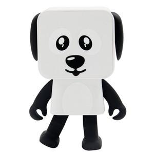 2020 Portable Danse Chien Jouet Haut-parleur Bluetooth stéréo sans fil lecteur de musique haut-parleur pour iphone Samsung avec la boîte au détail meilleur jouet cadeau