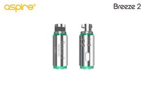 Aspire Breeze 2 Atomizador de repuesto 5pcs 1.0ohmBreeze Atomizador de repuesto 0.6ohm / 1.2ohm para cigarrillo electrónico aspire breeze 2 kit