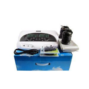 LCD İkili Sistem Sağlık Detox Ayak Bath Spa Makinesi Ion Temiz Detoks Makinesi ile uzak kızılötesi kemer