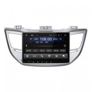 Araba DVD oynatıcı HYUNDAİ IX35 2015 Octa çekirdekli 10.1 inç andriod 8.0 OCTA çekirdek 4 GB RAM ile GPS, direksiyon kontrolü, Bluetooth, Radyo