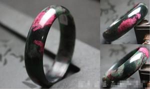 Tinta rima antigua estilo chino ciruela jade pulsera de jade pulsera de melocotón felicidad modelos femeninos