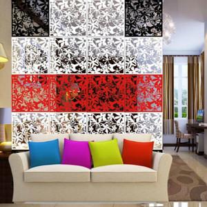 Висит экран творческий ТВ установка стены искусства бумаги вырезать гостиная крыльцо раздел складной экран разделитель комнаты