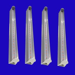 DIY Tam Spektrum T5 Tüp LED Ampul Büyümeye Kapalı Tohumları Çiçek Bitkiler Büyümek Çadır lambası 110-220 V Topraksız Sera aydınlatma