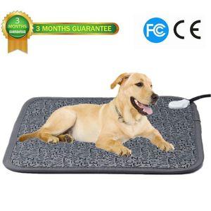 """Pet التدفئة الكهربائية سادة للماء مكافحة دغة حصيرة التدفئة الكهربائية للكلاب والقط بطانية أو بيت الكلب (28.3 """"x 18.9"""")"""