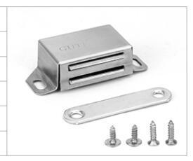 Нержавеющая сталь двери шкафа Магнит мебель аппаратные аксессуары шкаф дверь сильный магнитный сенсорный шарик дверь Магнит.