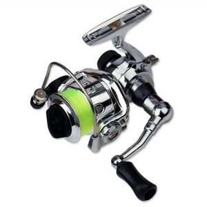 Mulinello da pesca MN100 Il più piccolo metallo Full Metal in lega di alluminio Mini Ice Shore Lure Winter Pen Rod Spinning Reel
