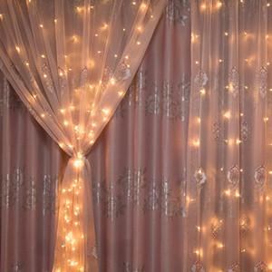 NEW Design 3 * 3м 300 звезд Занавес водопад огни Рождественские украшения Для дома Новый год украшения Новый год Рождество