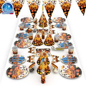 Fournitures De Fête De Mode Originalité Halloween Bonne Qualité Mobilier Ameublement De La Tête De Citrouille Fantômes Décoration Facile à Utiliser 28 2kk dd