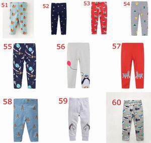 XMAS alpaga Deer Licorne Print Kids astronaute pp pantalon imprimé leggings enfants 100% coton imprimé collants enfants fleur Pantalon 2-7 ans