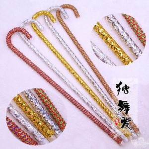Nouveautés Belly Dancing Canes Sticks assez populaire Dancing Jazz Cane Belly Dance Sticks avec 5 couleurs 5pcs / lot