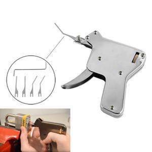 6 개 세트 LSL 강한 EAGLE 자물쇠 따기 총 자물쇠 도구 자물쇠 따기 세트 자물쇠 따개 Lockpick 따기 도구 범프 키 자물쇠