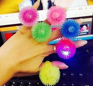 Мягкие мерцание кольцо мода силиконовые светодиодные палец кольцо для свадьбы Партии детей и взрослых светящиеся игрушки