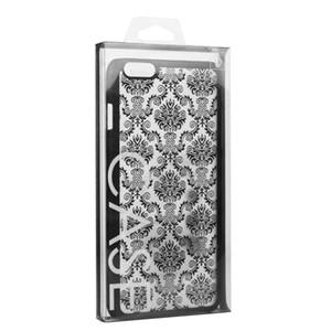 200 pezzi su misura plastica all'ingrosso di imballaggio box per il telefono di nuovo disegno riciclabile in PVC di copertura posteriore della cassa del telefono di imballaggio Box Package