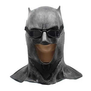 2018 Cosplay Justice League Batman Mask Adult Superhero Halloween Mask With Glass Costume Fancy Party Props