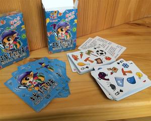 """""""Let's Spot It"""" نسخة مصغرة لعبة Find and Match Cards لعبة بطاقات المراقبة السريعة المحمولة للعبة Card Puzzle Game"""