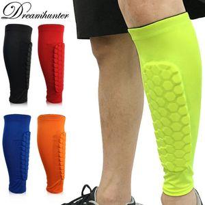 Homens Mulheres Compressão Executando Leg Luva Ciclismo Calf Apoio Anti-colisão Caneleiras Protector Outdoor Sports