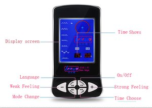 Digital Electro Shock Therapy Massage Power Box, macchina elettrica, tema mediche macchina adulti stimolatore Sex Toys, Accessori