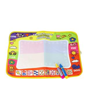 46x30 cm de desenho de água brinquedos com 2 canetas pintura placa de desenho tapete para bebê play mat presente de aniversário para crianças girsl