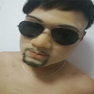 Heiße Neue Xmas realistische Mann Haut Maske männlichen Silikon weibliche Gesichtsmaske Crossdresser Transgender Maske Kostüm