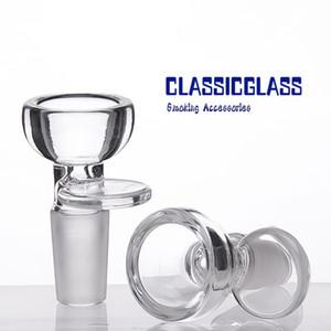 Herb Holder Glass Bowl Dia 27MM 14mm 18mm männlich Slide Glas Herb Halter Rauch Zubehör für Glasbong