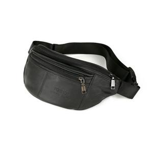 VSEN FONMOR Cintura para hombres Pack male Belt Bag Phone Pouch Bags Travel Waist Pack Male Small Bag Funda de cuero